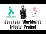 【Ky x SHINee World】040818 Jonghyun Worldwide Fan Tribute