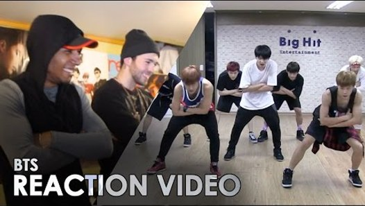 BTS - DANGER [ DANCE PRACTICE ] REACTION -- DIO & BBOYOMIT