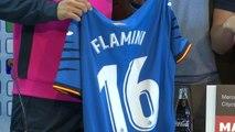 La Liga: Getafe - La présentation en images de Mathieu Flamini à Getafe