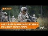 FF.AA. vuelven a su misión de la defensa de la soberanía e integridad - Teleamazonas