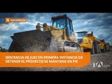 Tribunal negó apelación en proyecto minero Río Blanco - Teleamazonas