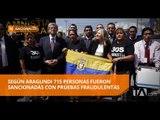 Zobeida Aragundi presentó denuncia contra servidores judiciales en 30s - Teleamazonas