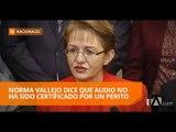Norma Vallejo no acudirá a la comisión multipartidista que la investiga - Teleamazonas
