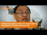 Operativo Mega Impacto dejó 19 detenidos  - Teleamazonas