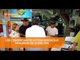 Comercio se mueve en Guayaquil días antes de Navidad - Teleamazonas