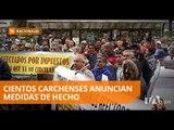 Protestas por el cobro de deudas calificadas como inexistentes - Teleamazonas