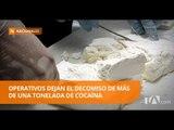 La Policía Nacional decomisa cocaína en Esmeraldas - Teleamazonas