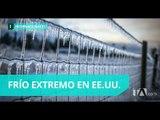 Frío polar azota a Estados Unidos - Teleamazonas