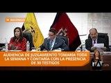 No aceptan procedimiento abreviado para exagentes de caso Balda - Teleamazonas