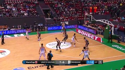 7Days EuroCup Highlights Top 16, Round 6: UNICS 72-53 MoraBanc
