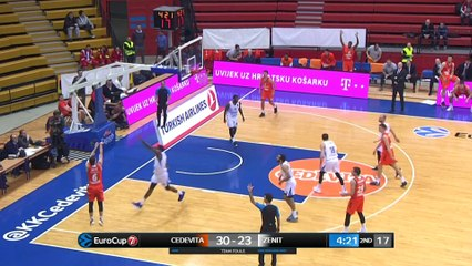 7Days EuroCup Highlights Top 16, Round 6: Cedevita 75-79 Zenit