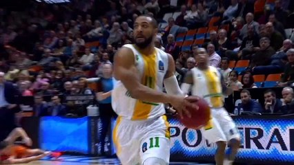 7Days EuroCup Highlights Top 16, Round 6: Valencia 91-84 Limoges