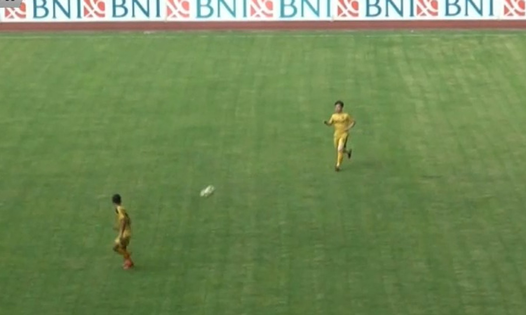 Bhayangkara FC Tahan Imbang Timnas U-22 Indonesia dengan Skor 2-2