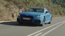 Kompaktsportler in Topform - das neue Audi TT RS Coupé und der neue Audi TT RS Roadster