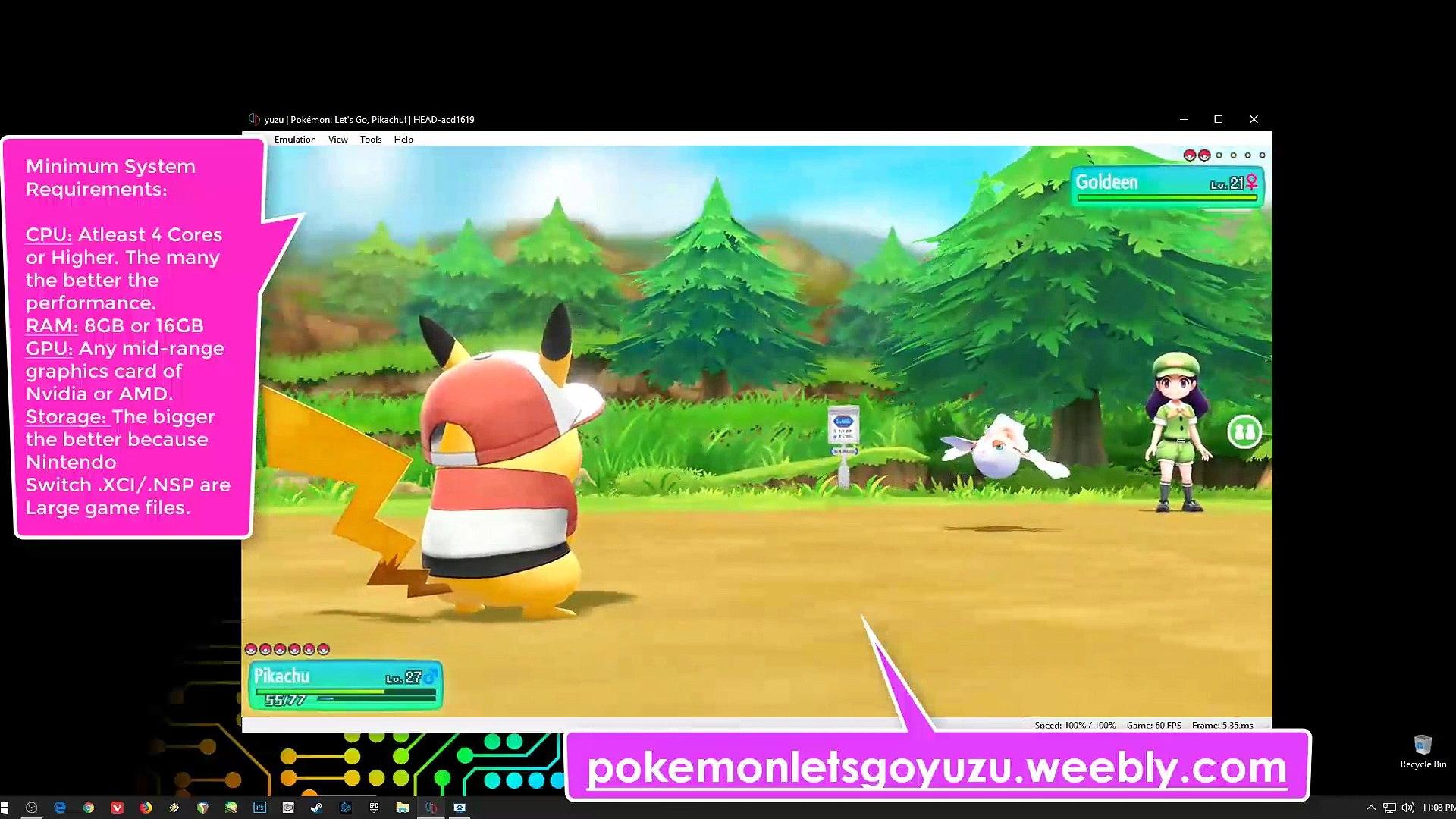 Descargar Pokémon Let's Go Pikachu! PC