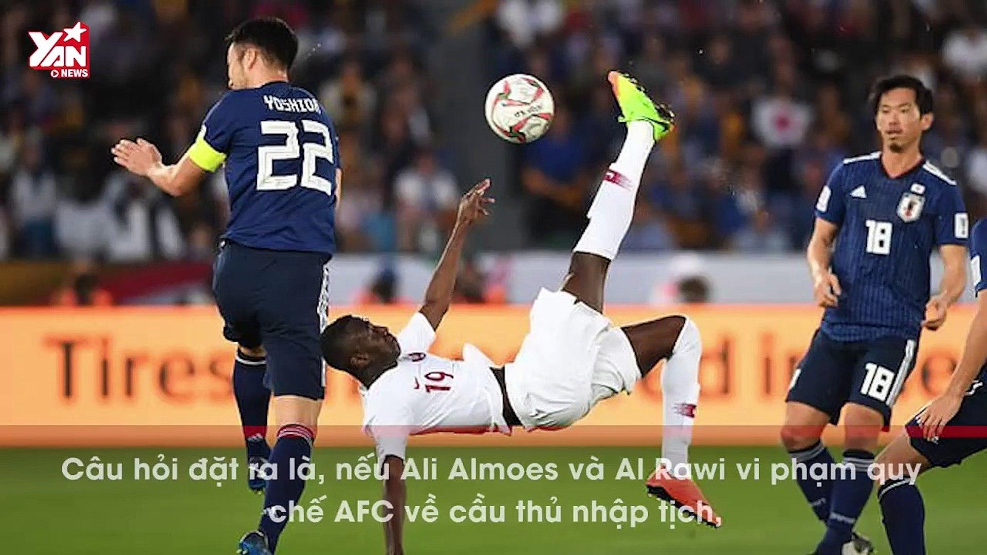"""Nếu Ali Almoez là """"cầu thủ lậu"""" thì Qatar có bị tước danh hiệu?"""