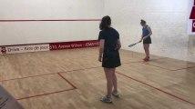Squash : la finale dames du tournoi international de l'Aramis à Mons