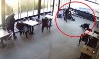 İzmir'de dehşet anları! Kafede kurşun yağdırdı