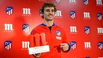 Atlético - Griezmann joueur du mois de janvier