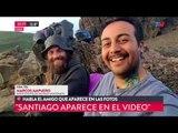 Habló el amigo chileno de Santiago Maldonado que aparece en las fotos
