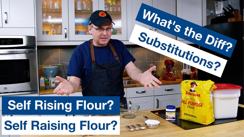 How To Make Self Raising Vs. Self Rising Flour - What Is It?