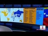 Qué países apoyan a Juan Guaidó en Venezuela y qué países apoyan a Nicolás Maduro