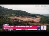 Momento exacto en el que colapsa presa en Brasil: Van más de 120 muertos | Noticias Yuriria Sierra