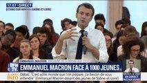 """Emmanuel Macron sur le harcèlement : """"À l'école et au-dehors, l'élève doit être absolument protégé"""""""