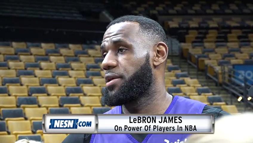LeBron James On Power Of NBA Players