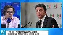 """Matteo Renzi : """"l'approche du gouvernement italien est une erreur incroyable"""""""