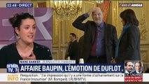 Affaire Baupin: L'émotion de Duflot