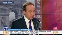 """Jean-Christophe Lagarde """"préfère la France responsable face aux irresponsables qui gouvernent l'Italie"""""""