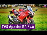 TVS Apache RR 310 Motorcycle Features and Price |Sports Bike | Latestly