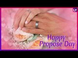 Wish Happy Propose Day With Romantic GIF Greetings & WhatsApp Sticker Messages During Valentine Week