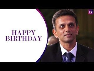 आज भारतीय क्रिकेट के दिग्गज बल्लेबाज राहुल द्रविड़ का 46वां जन्मदिन है