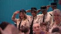 La Marche des Gendarmes - Douliou Douliou Saint Tropez - Le Salut des Gendarmes par l' Orchestre Christophe Demerson