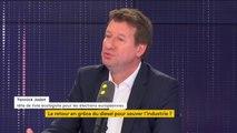 """Écologie : Bercy est """"la courroie de transmission des lobbies du vieux monde"""", dénonce Yannick Jadot"""