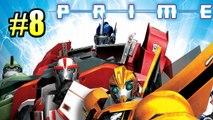 Трансформеры Прайм {Transformers Prime} часть #8 — ЛИФТ В НЕБЕСА