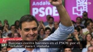 Barones contra barones en el PSOE por el relator para Catalu