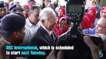 EVENING 5: Najib makes bid to stall SRC trial