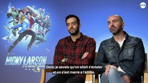 Tarek Boudali et Julien Arruti nous raconte la tournage du film Nicky Larson