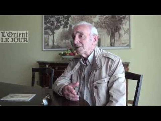Charles Aznavour en six points - L'Orient-Le Jour
