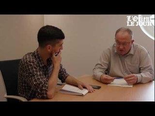 Olivier Roy répond aux questions de L'Orient-Le Jour
