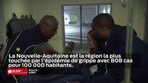 Epidémie de grippe en Nouvelle-Aquitaine