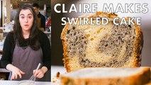 Claire Bakes Swirled Sesame Cake