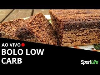 Bolo Low Carb