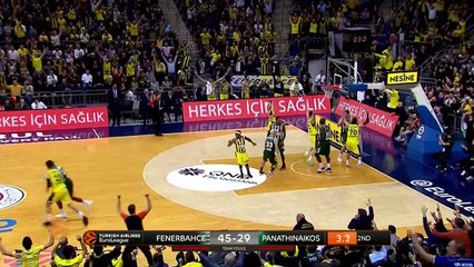 Fenerbahce Beko Istanbul - Panathinaikos OPAP Athens Highlights | EuroLeague RS Round 22