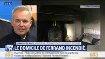 """""""C'est extrêmement choquant."""" François de Rugy réagit à l'incendie volontaire au domicile de Richard Ferrand"""