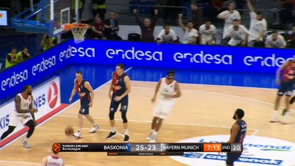 EuroLeague 2018-19 Highlights Regular Season Round 22 video: Baskonia 76-68 Bayern