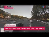 Tiros frente al hipódromo de Palermo